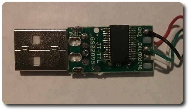 USB TTY Back