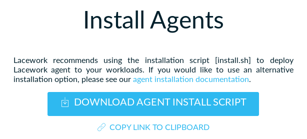 Install Agents